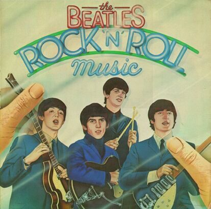 THE BEATLES - ROCK 'N' ROLL BEATLES