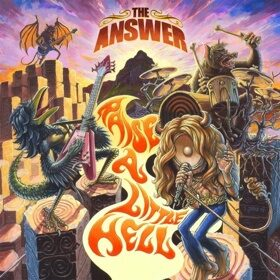Виниловая пластинка The Answer ‎- Raise A Little Hell (2LP) Limited Edition