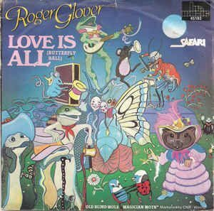 ROGER GLOVER AND GUESTS - THE BUTTERFLY