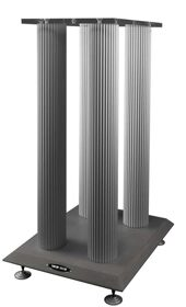 Стойка под акустику Solid-Tech Loudspeaker stand 620 mm (Concrete base / acrylic top, black or silver pillars)