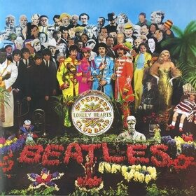 Виниловая пластинка The Beatles - Sgt. Pepper's Lonely Hearts Club Band (Reissue, Stereo, Gatefold)