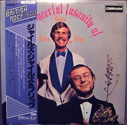 GILES, GILES & FRIPP - THE CHEERFUL INSANITY