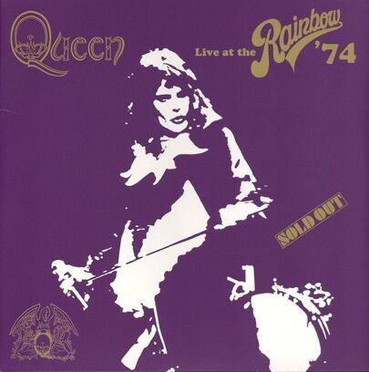 QUEEN - LIVE AT THE RAINBOW ' 74