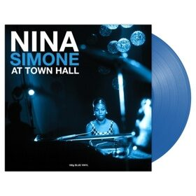 Виниловая пластинка NINA SIMONE - AT TOWN HALL (180GR, Blue Vinyl)