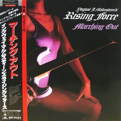 YNGWIE  J.MALMSTEEN RISING FORCE - MARCHING OUT