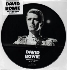 "Виниловая пластинка David Bowie - Breaking Glass [Live E.P.] (7"", Picture Vinyl, Limited Edition)"